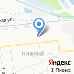 Средняя общеобразовательная школа №51 на карте Ярославля