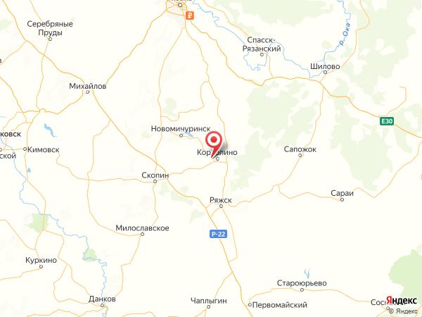 деревня Бобровинки на карте