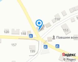 Схема местоположения почтового отделения 346713