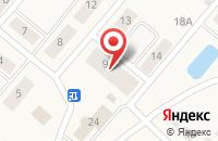 Схема проезда до компании Почтовое отделение в Семёнково