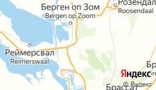 Отели города Зандфорт на карте