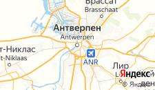 Отели города Антверпен на карте