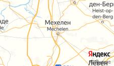 Отели города Мехелен на карте