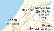Отели города Лейден на карте