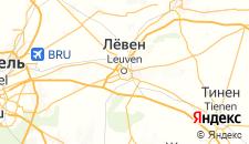 Отели города Левен на карте