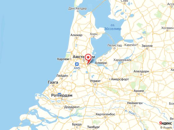 Амстердам-Зёйдост на карте