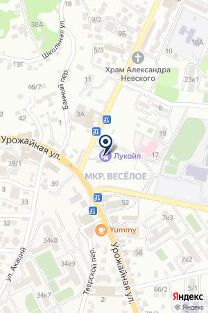 АЗС № 129 на карте Сочи