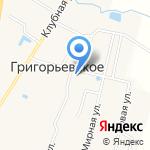 Григорьевская средняя общеобразовательная школа на карте Ярославля