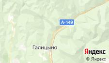 Отели города Монастырь на карте