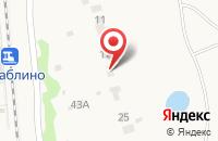 Схема проезда до компании РусАртФарма в Федюково