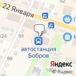 Магазин салютов Бобров- расположение пункта самовывоза