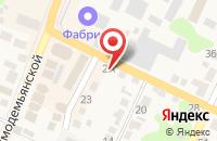Схема проезда до компании ПАРТНЁР в Новой Усмани