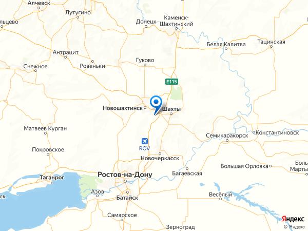 хутор Красный Кут на карте