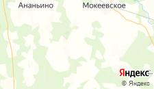 Отели города Сеславино на карте