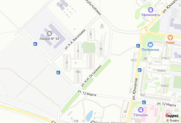 жилой комплекс по ул. Остапенко
