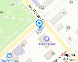Схема местоположения почтового отделения 385600