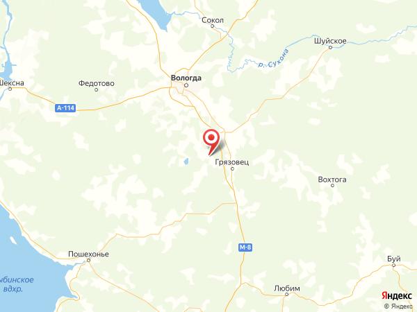 деревня Анопино на карте