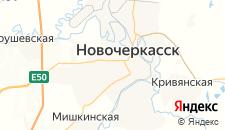 Гостиницы города Новочеркасск на карте