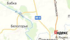 Отели города Александровка Донская на карте