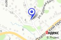 Схема проезда до компании АТП ПРОМТРАНССНАБ в Каменоломнях