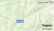 Отели города Чвижепсе на карте