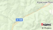 Частный сектор города Чвижепсе на карте