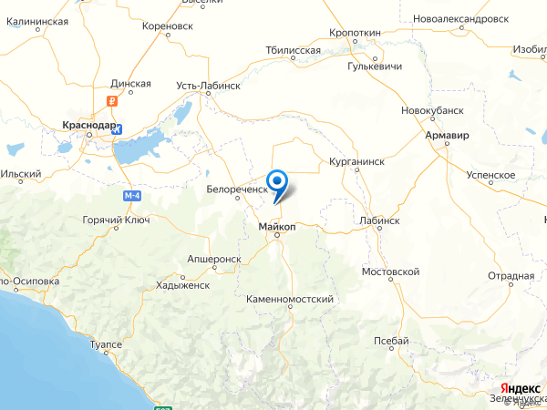СНТ Авангард-2 на карте