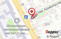 Схема проезда до компании Редакция Газеты «Частная Лавочка» в Новочеркасске