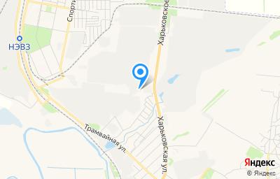 Местоположение на карте пункта техосмотра по адресу Ростовская обл, г Новочеркасск, ш Харьковское, д 5А