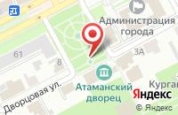 Схема проезда до компании Взлет в Новочеркасске