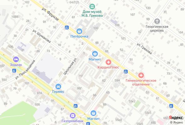 жилой комплекс Фрунзе, 71в