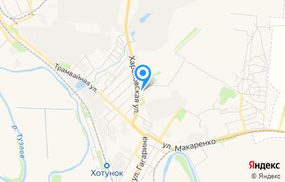 Местоположение на карте пункта техосмотра по адресу Ростовская обл, г Новочеркасск, ш Харьковское, д 4Г