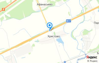 Местоположение на карте пункта техосмотра по адресу Владимирская обл, Собинский р-н, тер МО сельское поселение Воршинское