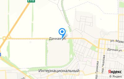 Местоположение на карте пункта техосмотра по адресу Ростовская обл, г Шахты, ул Дачная, влд 359