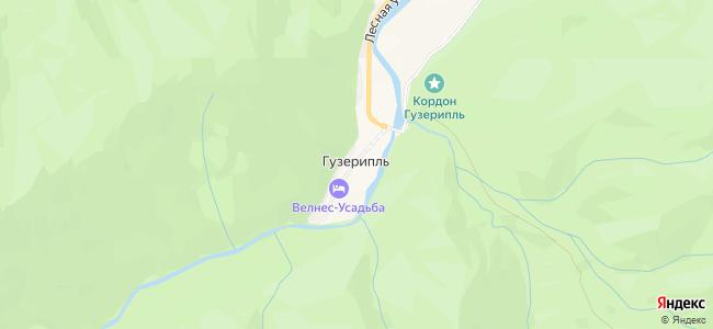 Гостиницы и Отели Гузерипля с бассейном - объекты на карте