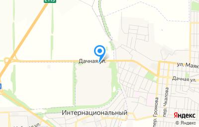 Местоположение на карте пункта техосмотра по адресу Ростовская обл, г Шахты, ул Дачная, д 359