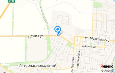 Местоположение на карте пункта техосмотра по адресу Ростовская обл, г Шахты, ул Дачная, влд 329