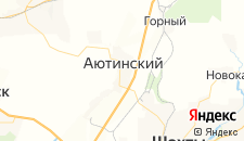 Отели города Аютинский на карте