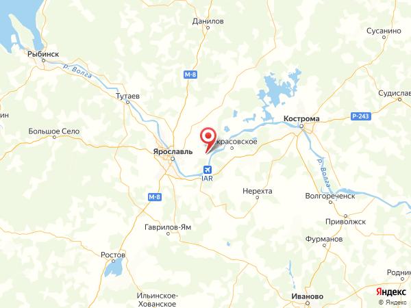 деревня Новая на карте
