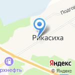 Пожарная часть №71 на карте Архангельска