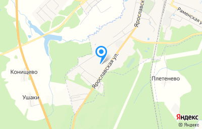 Местоположение на карте пункта техосмотра по адресу Ярославская обл, г Данилов, ул Ярославская, д 79