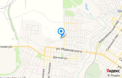 Местоположение на карте пункта техосмотра по адресу Ростовская обл, г Шахты, ул Посадочная, д 31