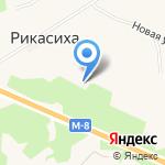 Корзинка на карте Архангельска