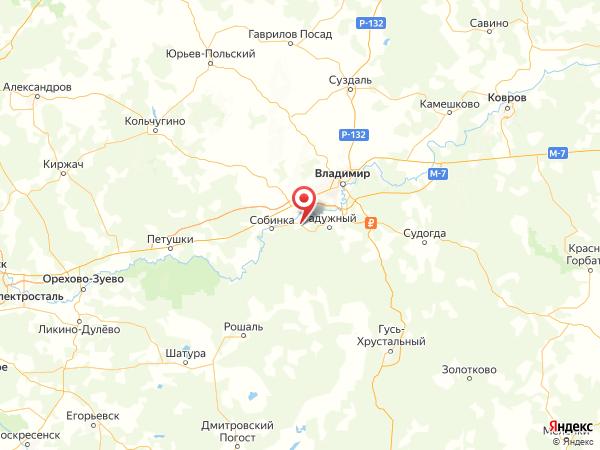деревня Рылово на карте