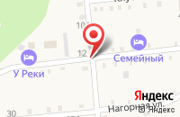 Схема проезда до компании Рафтинг-Гид в Даховской