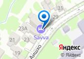 Михайловские мовницы на карте