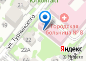 Краснополянский пункт-стоянка скорой помощи на карте