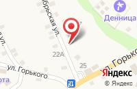 Схема проезда до компании Зелёные крыши в Даховской