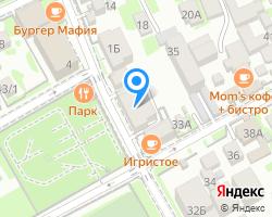 Схема местоположения почтового отделения 354392