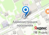Администрация Краснополянского поселкового округа Адлерского района на карте